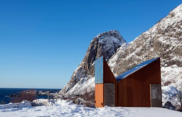 2014 die zehntschönste Toilette der Welt: Akkarvikodden auf den Lofoten. (Foto Steinar Skaar)