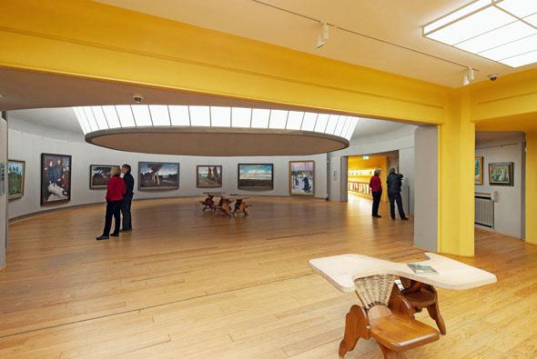 """Impressionen aus dem Museum """"Große Kunstschau Worpswede."""" (Foto: Rüdiger Lubricht)"""