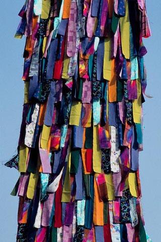 Nicht Kleider, sondern Fetzen machen Narren in Ebensee. (Foto Udo Haafke)