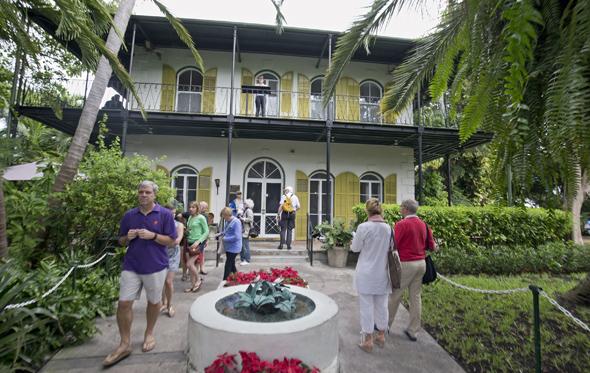 Ein Mekka für Literaturliebhaber: das Hemingway Home and Museum in Key West. (Foto Rob O'Neal)