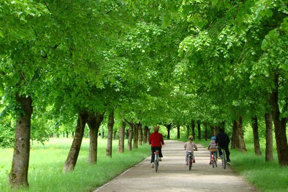 Europas Grüne Hauptstadt lässt sich am besten mit dem Rad erkunden. (Foto A. Rebec)