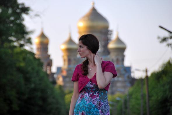 Lettland wie aus dem Bilderbuch: die russisch-orthodoxe Nikolaus-Kathedrale in Liepāja. (Foto Ilze Gustovska)