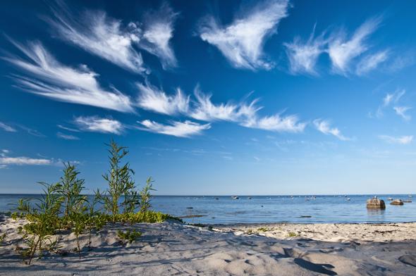An der lettischen Ostseeküste finden sich prächtige Strände wie der Kaltene Beach. (Foto Latvian Tourism Development Agency )