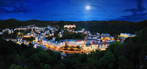 Karl IV. erhob 1370 den Ort Vary zur Königsstadt Karlovy Vary. (Foto Ladislav Renner)