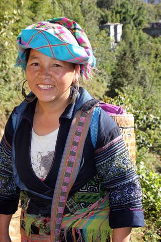Überaus freundlich und aufgeschlossen geben sich die Bergvölker rund um Sapa. (Foto Karsten-Thilo Raab)