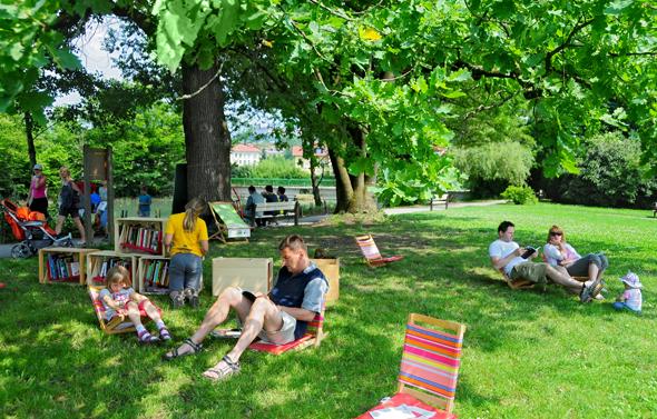 In der Grünen Hauptstadt Europas ist die Natur nie weit entfernt. (Foto D. Wedam)