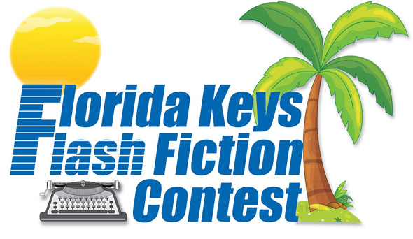 Official logo for the Florida Keys Flash Fiction Contest being staged Jan. 7, 2016, to March 31, 2016.
