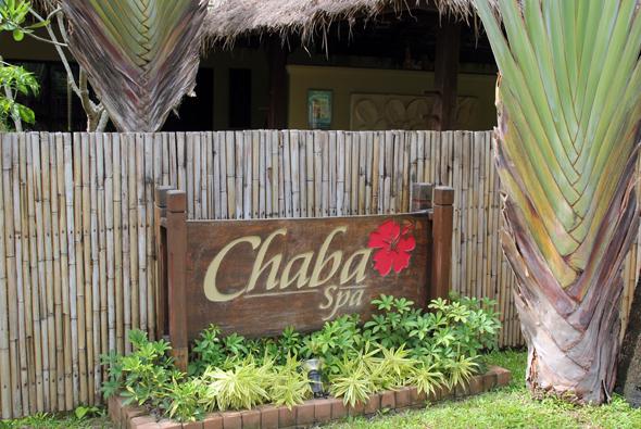 Die hoteleigene Wellness-Oase: das Chaba Spa. (Foto Karsten-Thilo Raab)