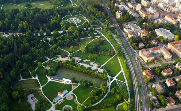 Der Tivoli Park gilt als die grüne Lunge der slowenischen Kapitale. (Foto Mostphotos)
