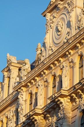 Prächtige Art Nouveau Gebäude prägen das Stadtbild von Riga. (Foto Reinis Hofmanis)