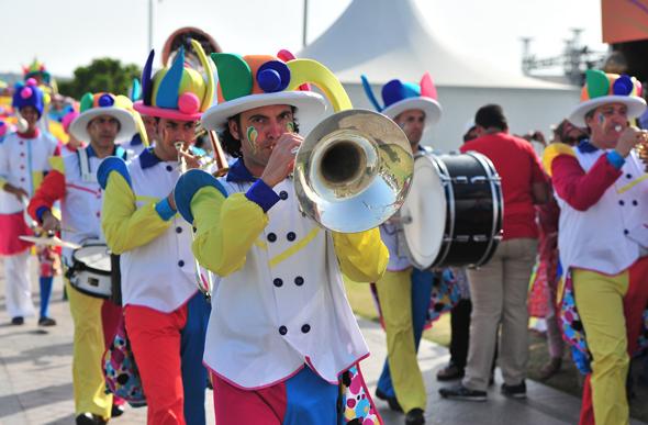 Abgerundet wird das Food Festival mit einem breiten Unterhaltungsprogramm. (Fotos Qatar Tourism Authority)