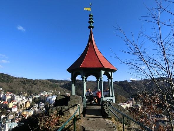 Beliebtes Reiseziel: das westböhmische Kurbad Karlovy Vary.