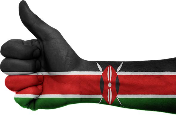 Daumen hoch für die Pläne, den Tourismus in Kenia gezielt zu fördern.