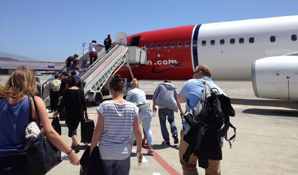 Das Boarding wird für die Fluggäste immer wieder zu einer Geduldsprobe.