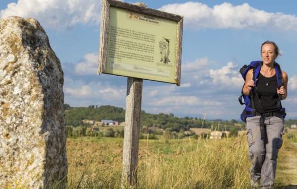 Schon seit 25 Jahrhunderten führt die Via Alta Wanderer über 636 km durch eine wilde und bis heute erhaltene Naturlandschaft. (Foto Comité Régional de Tourisme Provence-Alpes-Côte)