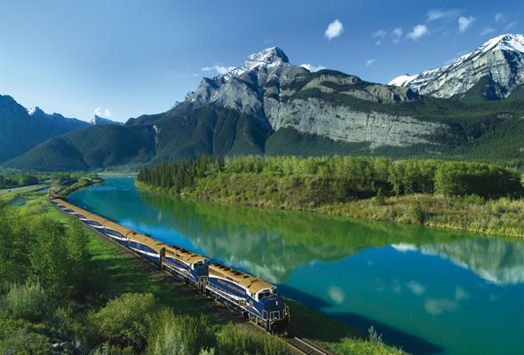 Traumlandschaften und Bilder zum Träumen zwischen Vancouver und Banff. (Fotos Rocky Mountaineer)