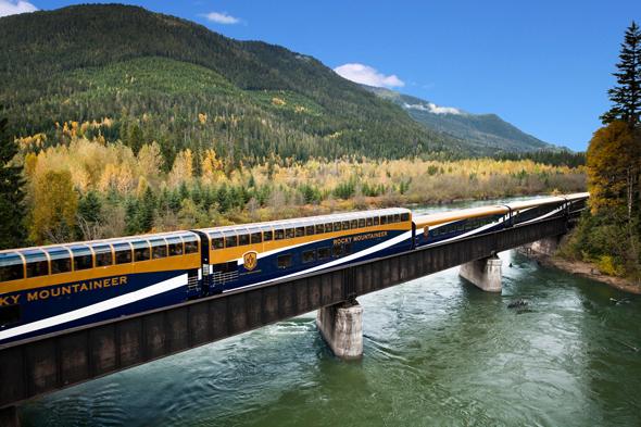 Entspannter und spektakulärer lässt sich Kanada wohl kaum erleben, als im Rocky Mountaineer.