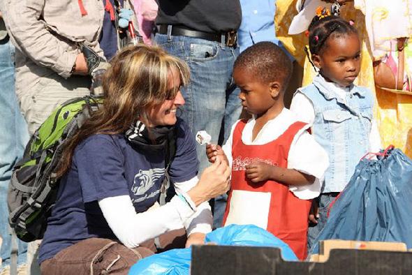 Die Erlöse der Rallye kommen Waisenkinder in Mauretanien zu Gute.