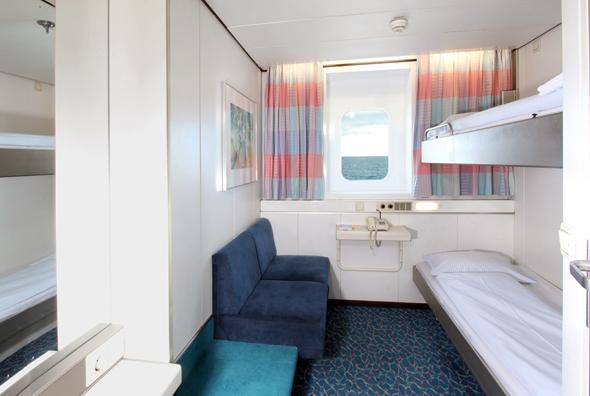 In den Kabinen der Ostsseefähren vergeht die Überfahrt mitunter wie im Schlaf. (Foto TT-Line)