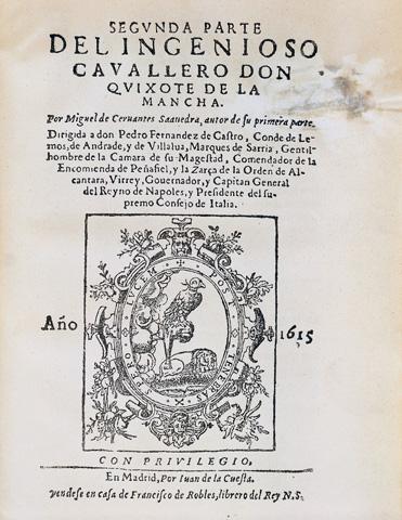 Don Quixote - das Meisterwerk von Miguel de Cervantes.