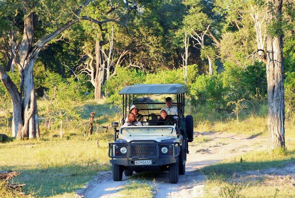 Unterwegs auf Safari in Botswana. (Foto Katharina Büttel)