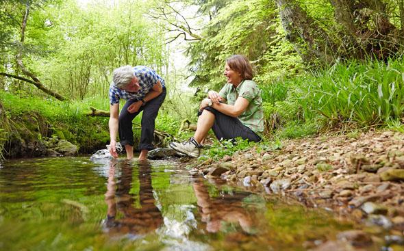 Wandern als Naturerlebnis liegt bei allen Altersgruppen im Trend. (Foto: djd)