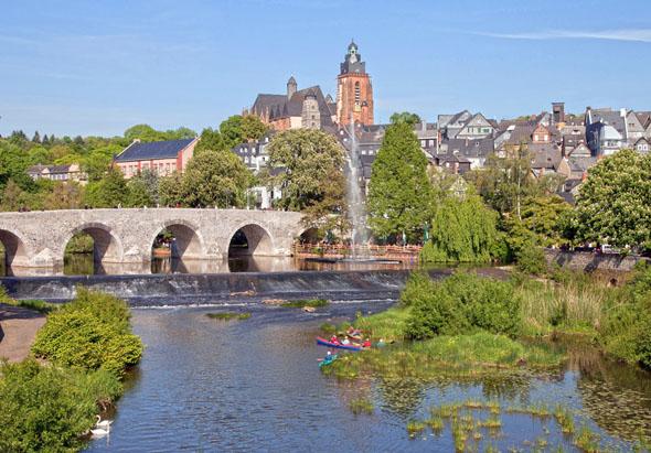 Wetzlar bezeichnet sich gerne auch als Goethe-Stadt.