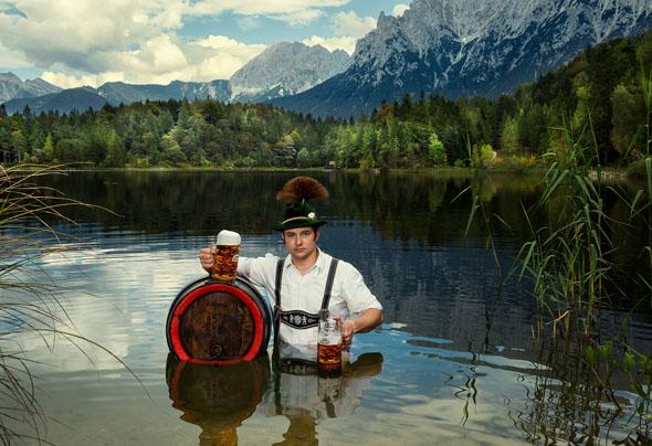 In Bayern wird das ganze Jahr über der 500. Geburtstag des Reinheitsgebots mit zahlreichen Festen und Veranstaltungen begangen. (Foto Sead Husic)