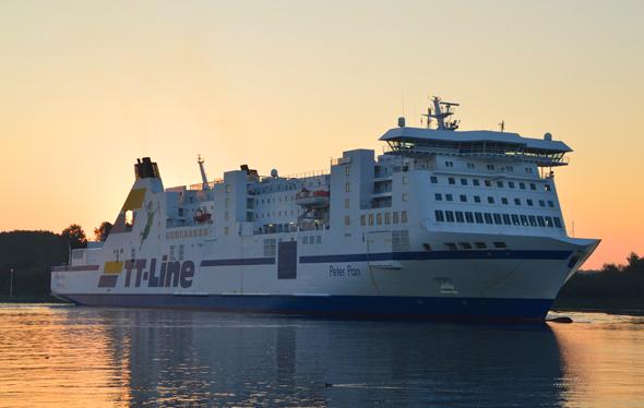 Nicht weniger als 17 Abfahrten werden täglich von Travemünde und Rostock ins schwedische Trelleborg angeboten. (Foto TT-Lines)