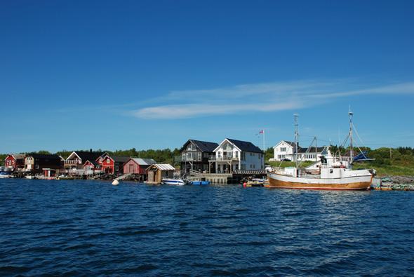 Nicht nur für Angler ist die Inselwelt von Leka ein lohnendes Ziel. (Foto DIN TUR)