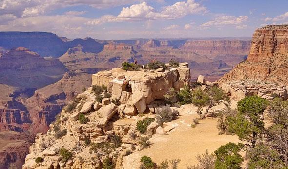 Steinernes Sehnsuchtsziel in Arizona: der Grand Canyon.