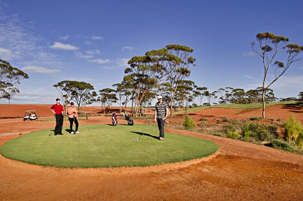 In Westaustralien findet sich der längste Golfplatz der Welt. (Foto Tourism Western-Australia)