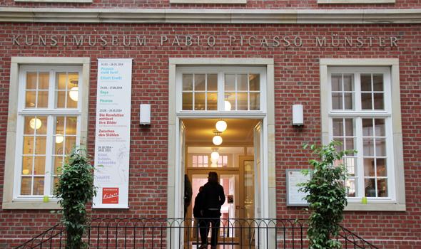 Beliebter Anlaufpunkt für Kulturbeflissene: das Picasso Museum. (Foto Karsten-Thilo Raab)