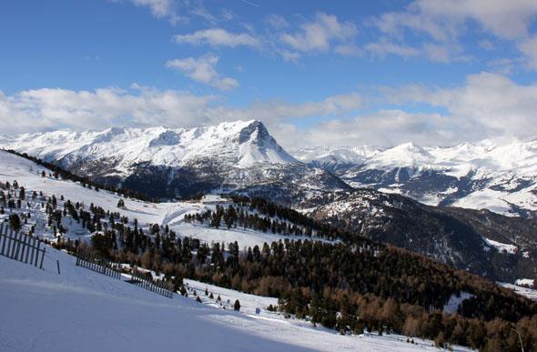 Herrliche An- und Aussichten rund um das schneesichere Nauders. (Foto Ulrike Katrin Peters)