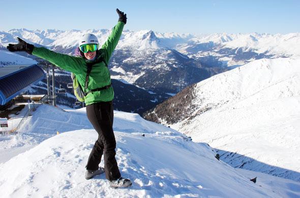 Ideale Bedingungen finden Wintersportler im Dreiländereck Österreich, Schweiz und Italien im schneesicheren Nauders. (Foto Ulrike Katrin Peters)