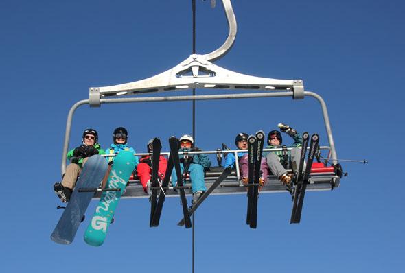 24 moderne Liftanlagen erschließen das Skigebiet am Reschenpass. (Foto Ulrike Katrin Peters)