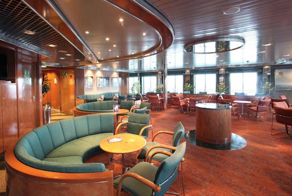 Die modernen Ostseefähren bieten jede Menge Raum für Entspannung. (Foto TT-Line)
