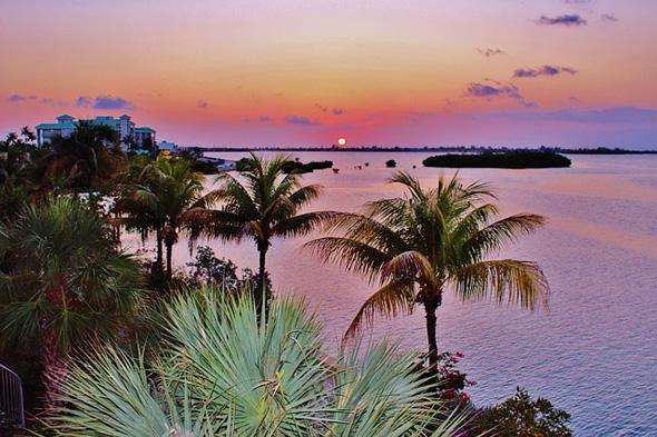 Key West, bekannt für seine spektakulären Sonnenuntergänge, war einst Tummelplatz einiger der größten amerikanischen Schriftsteller.
