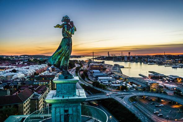 Göteborg huldigt mit einem Feiermarathon dem Meer. (Foto Per Pixel Petersson)
