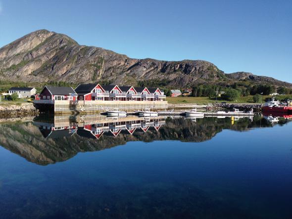 Norwegischer Inseltraum und Anglerparadies: das malerische Leka. (Foto DIN TUR)