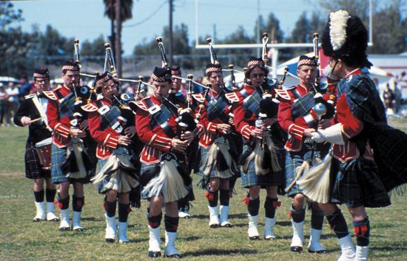 Bei den Highland Games in Dunedin dürfen natürlich auch Marching Bands und Dudelsackklänge nicht fehlen. (Foto Visit St Pete/Clearwater)