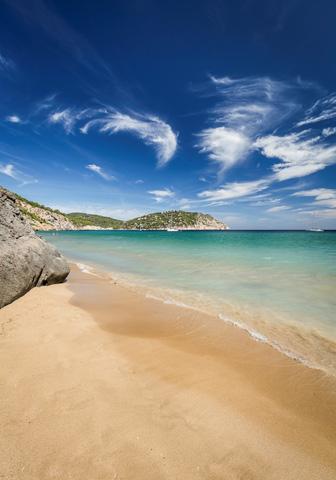 Kleines Badeparadies: der Strand von S'Aigua Blanca.