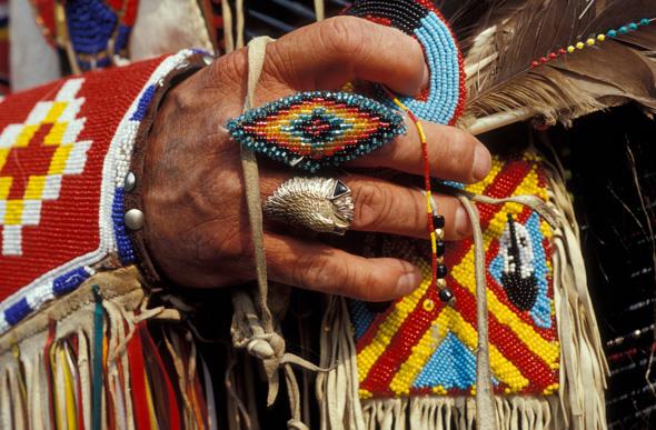 In den Rocky Mountains Staaten lässt sich indianische Lebensart hautnahe erleben. (Foto Donnie Sexton)