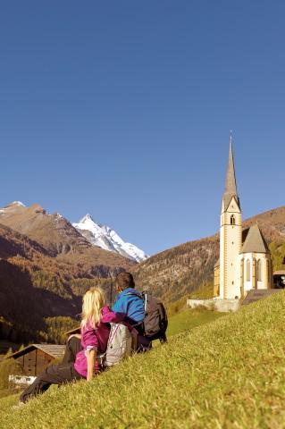 Entlang des Alpe-Adria-Trails lässt sich wie hier bei Heiligenblut herrlich wandern. (Foto Franz Gerdl)