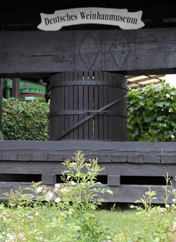 Eine Institution: das Deutsche Weinmuseum in Oppenheim. (Foto Karsten-Thilo Raab)