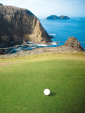 Auch Golf-Liebhaber kommen auf Porto Santo auf ihre Kosten. (Foto Associação de Promoção da Madeira)