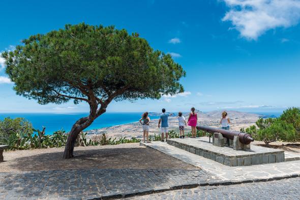 Beliebte Aussichtspunkt der (Foto Associação de Promoção da Madeira)