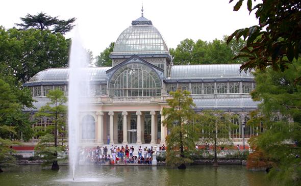 Die grüne Luinge im Herzen von Madrid: der liebevoll angelegte Retiro-Park-. (Foto Karsten-Thilo Rab)