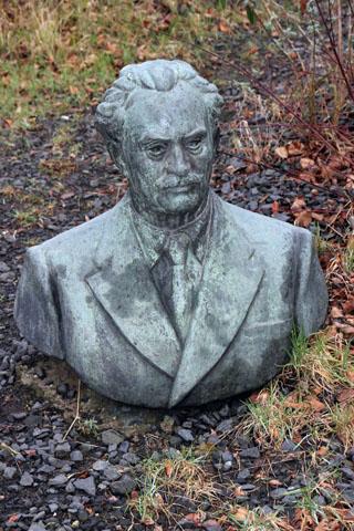 Der Seepark ist so etwas wie der Friedhof der unbekannten Sowjet-Helden. (Foto Karsten-Thilo Raab)