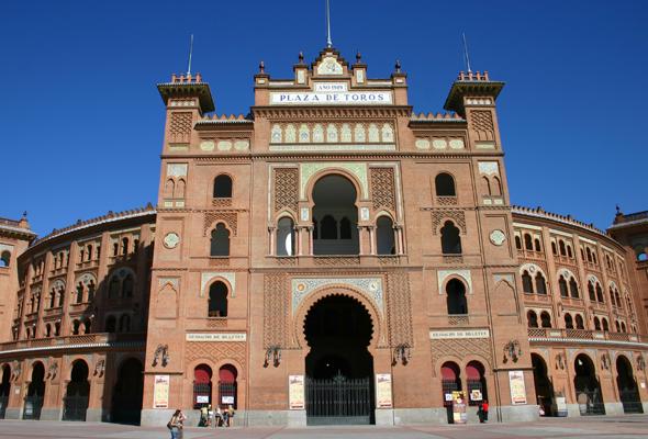 Einer der vielen Prachtbauten in Spaniens Hauptstadt: Stierkampfarena Las Ventas. (Foto Karsten-Thilo Raab)